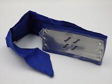 Bandeau cosplay NARUTO Shippuden Sigle Kiri Neuf plaque métal bande bleu