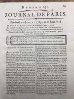 Lafosse Vétérinaire 1789 Cheval Marquis de Tonnerre Amont Louis 16 Etat Generaux