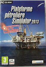 Platform Oil Simulator 2013