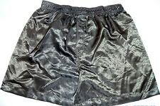 "MEN'S SATIN BOXER SHORT ""DARK GREEN"" SIZE MEDIUM $22.00"