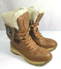 LaNeige Canada by Pajar Women's Mollie Waterproof Snow Brown Boots Adirondack