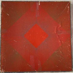 Splendor Of Red Puzzle Richard Anuszkiewicz 1960's Complete Jigsaw Springbok OP