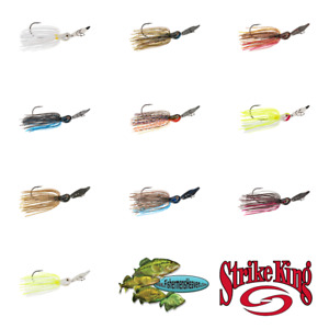 Strike King Thunder Cricket Bladed Swim Jig TCVSJ Pick Any Size or Color Lures