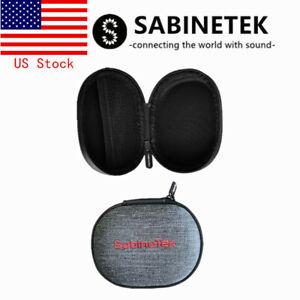 Sabinetek Multifunctional Carrying Case Earphone Storage Bag Invisible Zipper