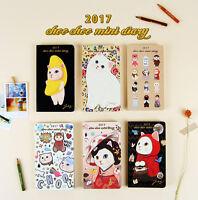 2017 Jetoy Choo Choo Mini Diary Planner Scheduler Journal Agenda Schedule Book