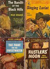 B171 Lot Of 4 Western Pocketbook Brand Ermine Vintage Paperback Books ..