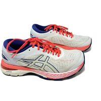 Womens Asics Gel Kayano 25 white size 8 US 39.5 EU running shoes 1012A026