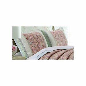 Greenland Palisades King Pillow Sham 20x36 Pastel
