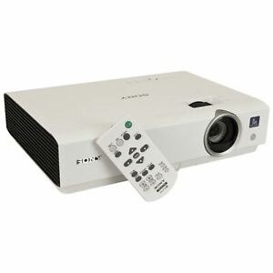 Sony VPL-dx122 HDMI LCD 2600 LUMENS HOME CINEMA PROJECTOR 10000 HRS NEW LAMP