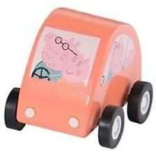 Peppa Pig Pullback Wooden Vehicle Cars (spaceship, family car, train, boat)