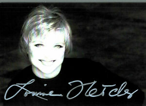 Louise Fletscher Original Signature On Card No. 6649
