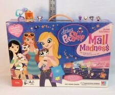 Littlest Pet Shop Mall Madness game & Teensies keychain lot: t95, t96