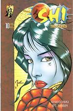 Shi The Series #10 May 1998 First Printing Crusade Comics
