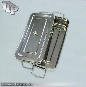 "Instruments Sterilization Box 8""x12"" Surgical Dental Sterilizing Instruments"