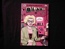BLAB! #7- Joe Coleman*Chris Ware*Daniel Clowes*Mary Fleener*Frank Stack*SPAIN +