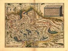 Grande A1 Svizzera, Swiss Elvetica Svizzera Ginevra Zurigo Antico Mappa Plan