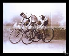 Vittorio Alinari 1895-rpt BOY Bike Ride BIKING Teen Italy Italian Cycling MATTED