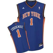 NEW YORK KNICKS STOUDEMIRE JERSEY XL ADIDAS ROAD BLUE NBA REPLICA NWT REV 30 NEW