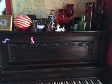 Vintage Bisque Piano Baby Blue Eyes