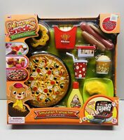 Pretend Fast food Toy Play Hamburger Pizza Hotdog Shop Kids Store Xmas Gifts Fun