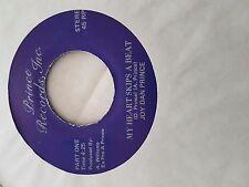 Joy Dan Prince - My heart skips a beat - Prince Records Inc.  -  45