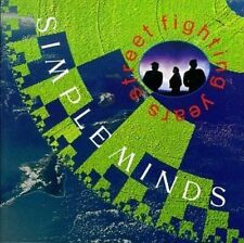 Simple Minds Street fighting years (1989) [CD]