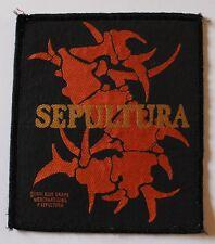 Sepultura , Logo Patch , 1991, rar, rare