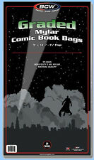 BCW: 2-mil Mylar Bags: GRADED-COMIC Size: 250ct / CASE-LOT