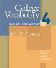 College Vocabulary 4: English for Academic Success (Bk. 4)