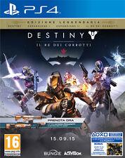 Destiny Il Re Dei Corrotti Ed. Leggendaria D1 Day One Edition PS4 Playstation 4