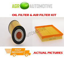 PETROL SERVICE KIT OIL AIR FILTER FOR VAUXHALL ASTRA 1.6 116 BHP 2004-11