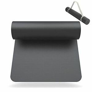 SNIKES Yoga-Matte (180x60cm) mit gratis Tragegurt - Yogamatte für Workout & Yoga