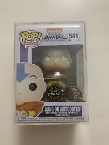 Aang on Airscooter Chase 541 - Avatar Last Airbender - Funko Pop Vinyl Glow Mint