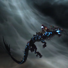 Reittier Mount Donnernde Onyxwolkenschlange Thundering Onyx Cloud Serpent Huolon