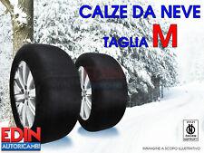 CALZE DA NEVE OMOLOGATE AUTO TAGLIA M PER PNEUMATICI 225/45R17  225/45/17