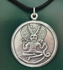 Cernunnos Horned God of the Forest Pewter Pendant. Pagan/Wiccan