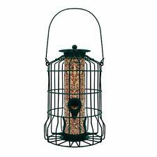 New listing Caged Tube Feeder, Squirrel Proof Wild Bird Feeder, Outdoor Birdfeeder with