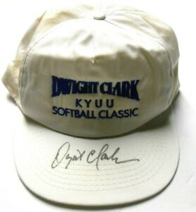 Dwight Clark SF 49ers Football Great Signed Autographed Charity Softball Hat Cap
