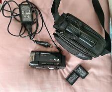 Full HD Camcorder Panasonic HDC-TM60, inklusive Zubehörpaket