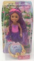 Mattel 5.5-Inch Barbie Endless Purple Hair Kingdom Doll