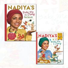 Nadiya's Bake Me a Festive Story and World Book Day 2018 2 Books Collection Set