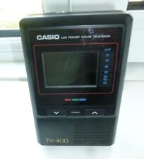 "Casio TV-400 2"" Vintage LCD Pocket Colour Television"