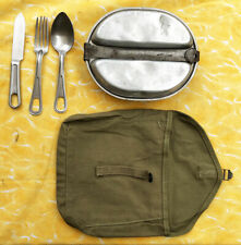 US WW2  mess kit sacoche + gamelle + couverts. jeep dodge gmc