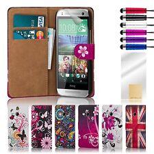 Custodie portafoglio in pelle sintetica per cellulari e palmari HTC