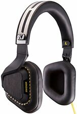 Kicker 41HVM3B2 Vapor 3-Button Premium Headphones with Microphone (Black)