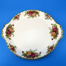 Royal Albert Old Country Roses Cake Plate 10 1/4""