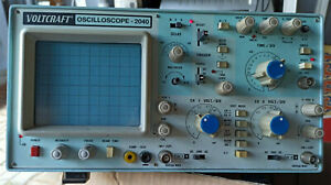 2x Voltcraft Oscilloscope 2040 Vintage