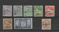 Algeria, 1927, Overprint set, used