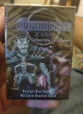 Ophidian 2350 CCG - Portal/Bio-Tek Starter Deck New/Shrinkwrap