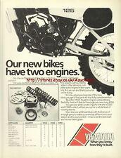 """Yamaha """"Parts Kit"""" Motorcycle 1981 Magazine Advert #3647"""